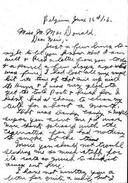 Letters home: Clarksburg woman compiles father's letters